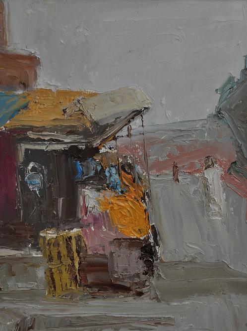 Orange Seller of Marrakech