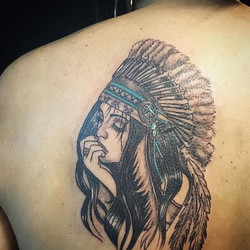 One of my #favorites #throwbackthursday #tattooideas #shoulderpiece #art #ladytattooer