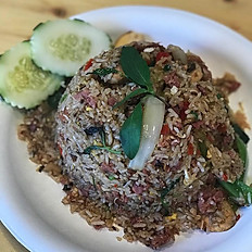 Spicy Basil Fried Rice.