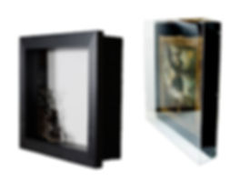 custom framed shadow boxes and acrylic glass box