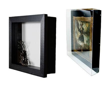 custom framed shadow boxes and acrylic glass box