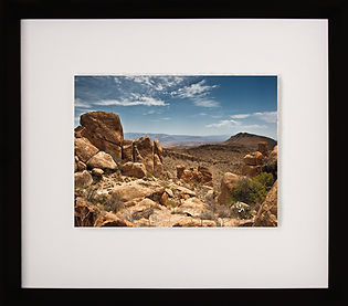 11 x 14 floated framed photograph