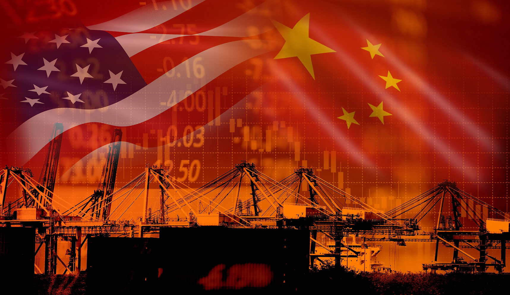 USA and China trade war economy conflict