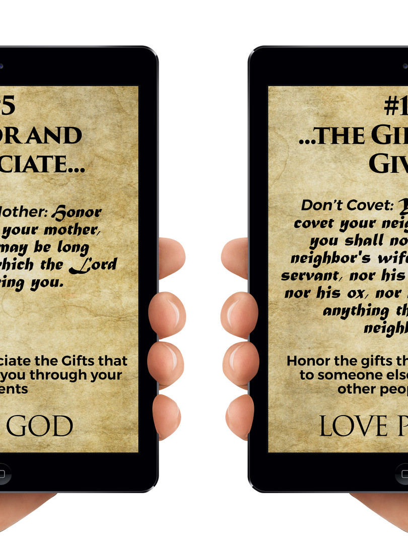 Commandments 5 and 10