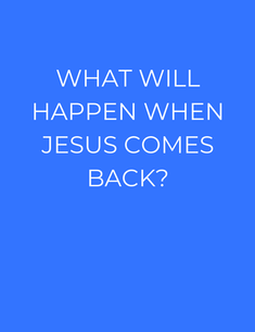 HE IS Coming BACK for His Friends! ->JESUS will come back in the end of this TIME PERIOD to judge the world, and start it out BRAND NEW with His Congregation, the people that believed and obeyed Him. ->JESUS will destroy the earth, and every person that is not with him. Then He'll make it new, and run it with his people. His Friends!!!! ->This Time Period is temporary, and its soon coming to an end. Your life is SO short. Get on God's team NOW!