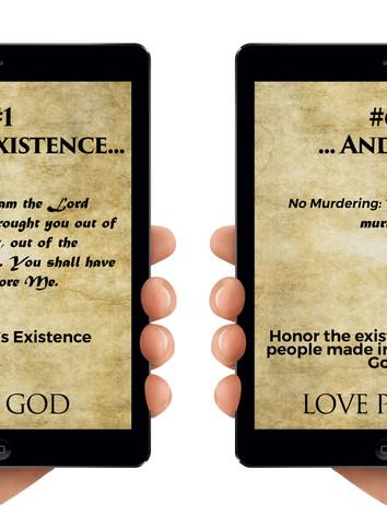 Commandments 1 and 6