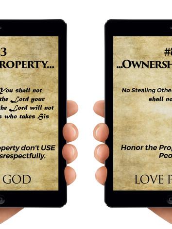 Commandments 3 and 8