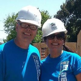 Randy & Lisa Supporting Habitat for Humanity