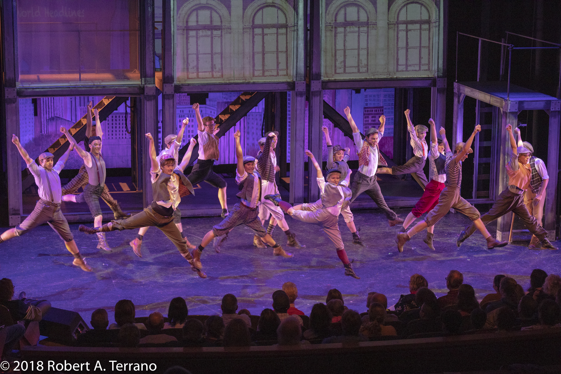 Newsies Production-84