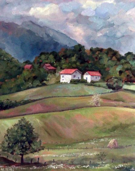 Сельский пейзаж / Сербия
