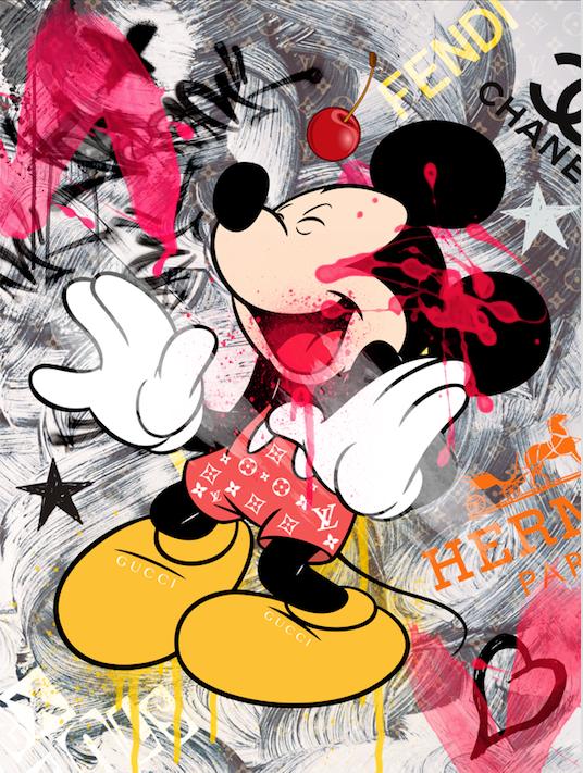 Multibrand Mickey white