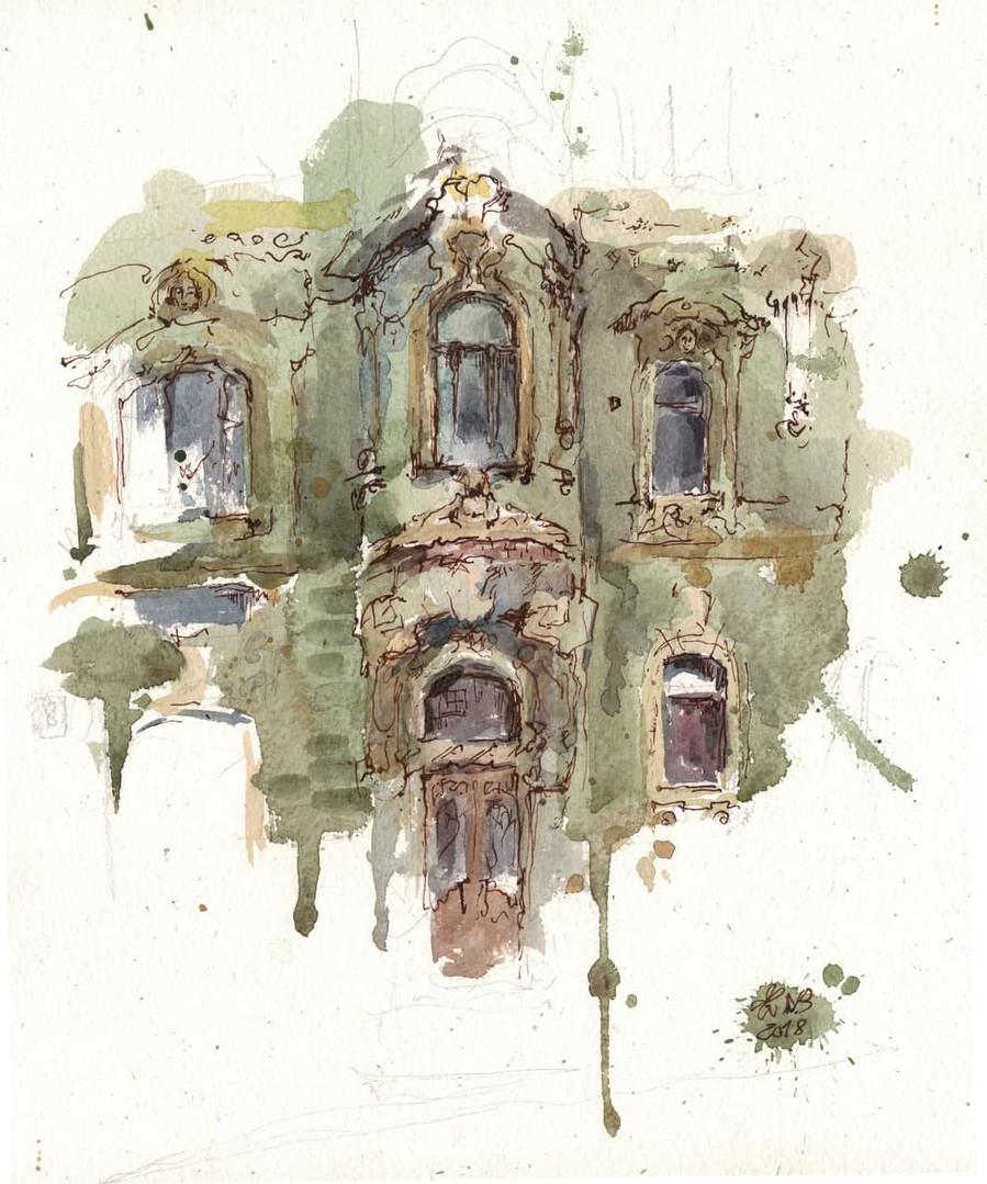 Тот зеленый дом (Петровский пер, д.8)