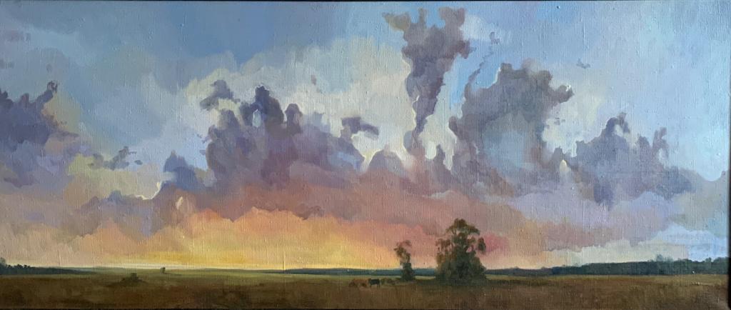 Закат над Просторами Борисоглеба