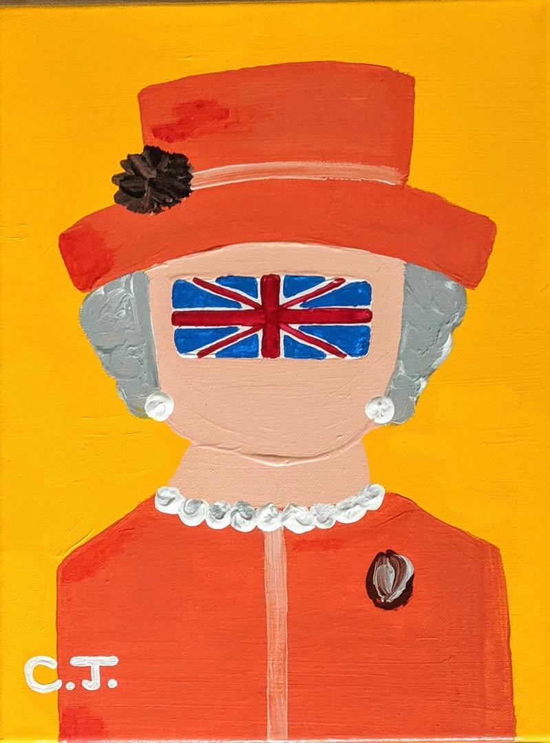 Елизавета в оранжевом