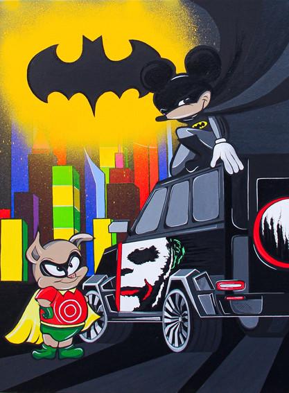I am the BATMAN