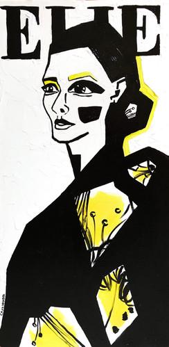 Yellow ELLE