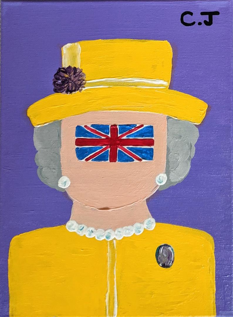 Елизавета в жёлтом