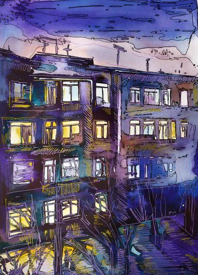 Ночные окна