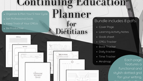 The Continuing Education Planner Flip-Through