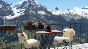 Restaurant terrace open
