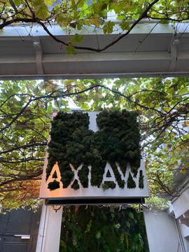 Logo végétaux, Axlaw avocats rouen