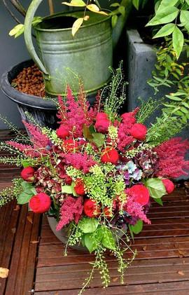 décoration florale, bouquet de fleur rouen