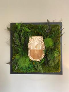 logo végétal entreprise, Faubourg des plantes
