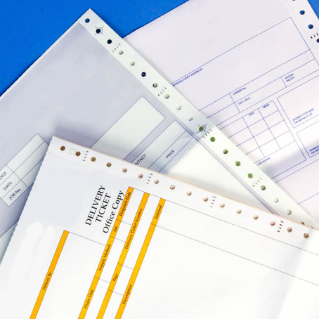 Specialist Continuous NCR Forms For Every Day Use