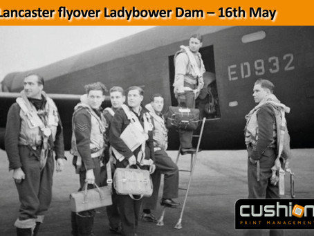 Lancaster flyover Ladybower Dam - 75th Anniversary - 17th May 1943