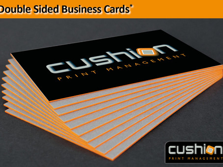 Orange(ish) Wednesday  - Double Sided Business Cards* - 24th January
