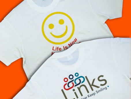 Personalised T-Shirt Print for Charity Events, Promotional Events, Hen Parties...