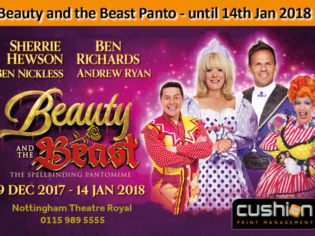 Beauty and the Beast Panto - until 14th Jan 2018