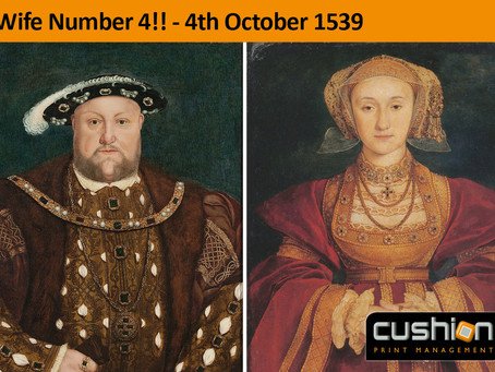 Henry VIII and Anne of Cleaves Marriage – 4th October 1539