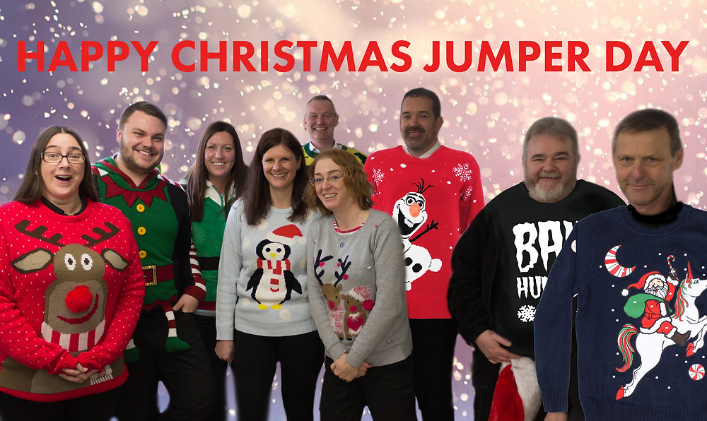 Cushion Christmassy Christmas Jumper Day – 15th December