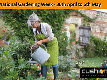 National Gardening Week – 30th April to 6th May
