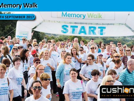 Nottingham Memory Walk for the Alzheimer's Society – Saturday 9th September
