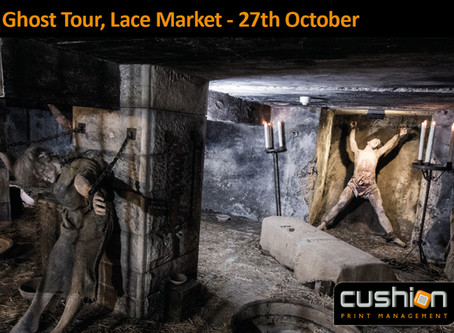 Ghost Tour in the Lace Market, Nottingham – Friday 27th October