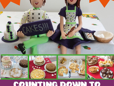 Its Happening Now! - Cushion Macmillan Coffee Morning Cake Sale