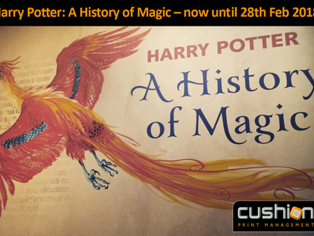 Harry Potter at the British Library – now until 28th February 2018