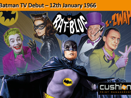 Batman TV Debut – 12th January 1966
