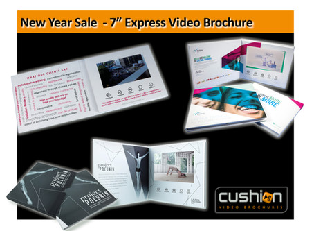 "New Year Sale - 7"" Screen Express Video Brochure - 17th January..."