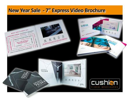 "Express 7"" Screen Video Brochures"