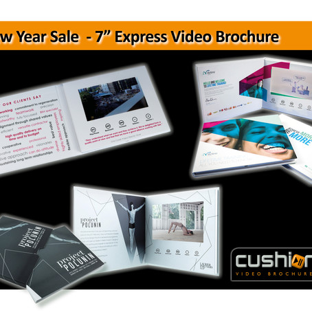 """New Year Sale - 7"""" Screen Express Video Brochure - 17th January..."""