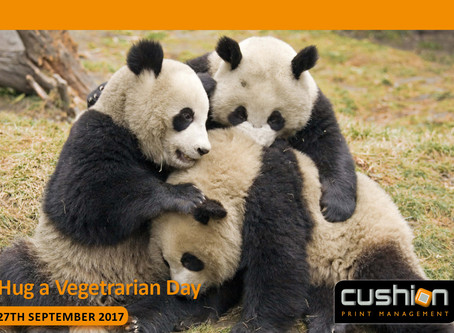 Hug a Vegetarian Day – 27th September...