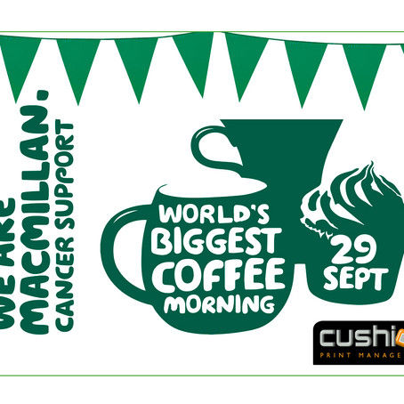 Macmillan - World's Biggest Coffee Morning – 29th September