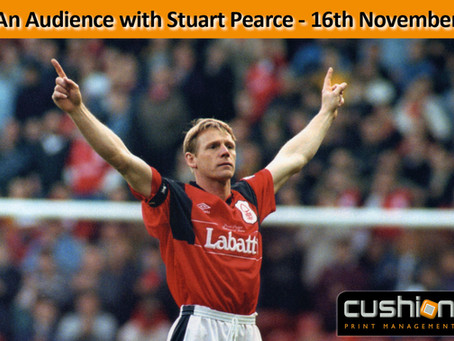 An Audience with Stuart Pearce at Saltbox, Nottingham - 16th November