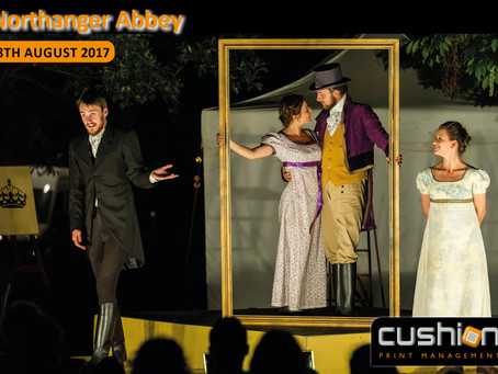 Outdoor Theatre Season at Newstead Abbey – 18th August