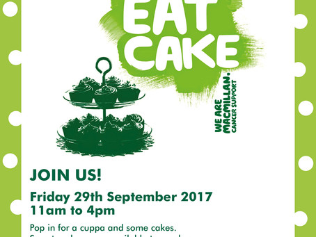 29th Sept - Put this date in your diary