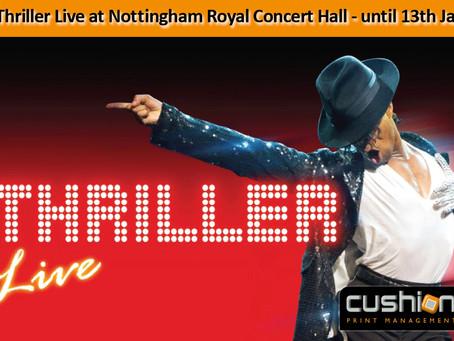 Thriller Live at Nottingham Royal Concert Hall – until 13th January