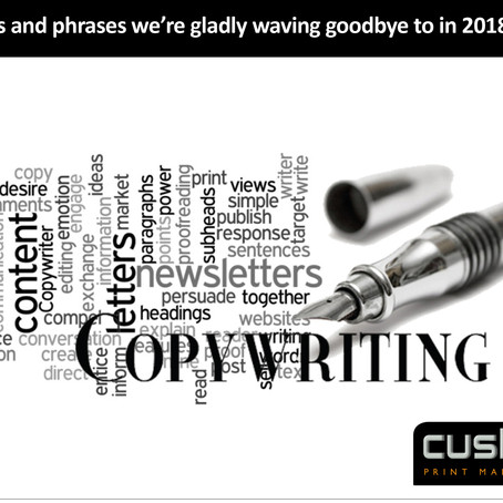 14 words and phrases we're gladly waving goodbye to in 2018...